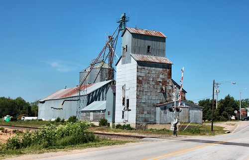 Grain Elevator - Clatonia, NE