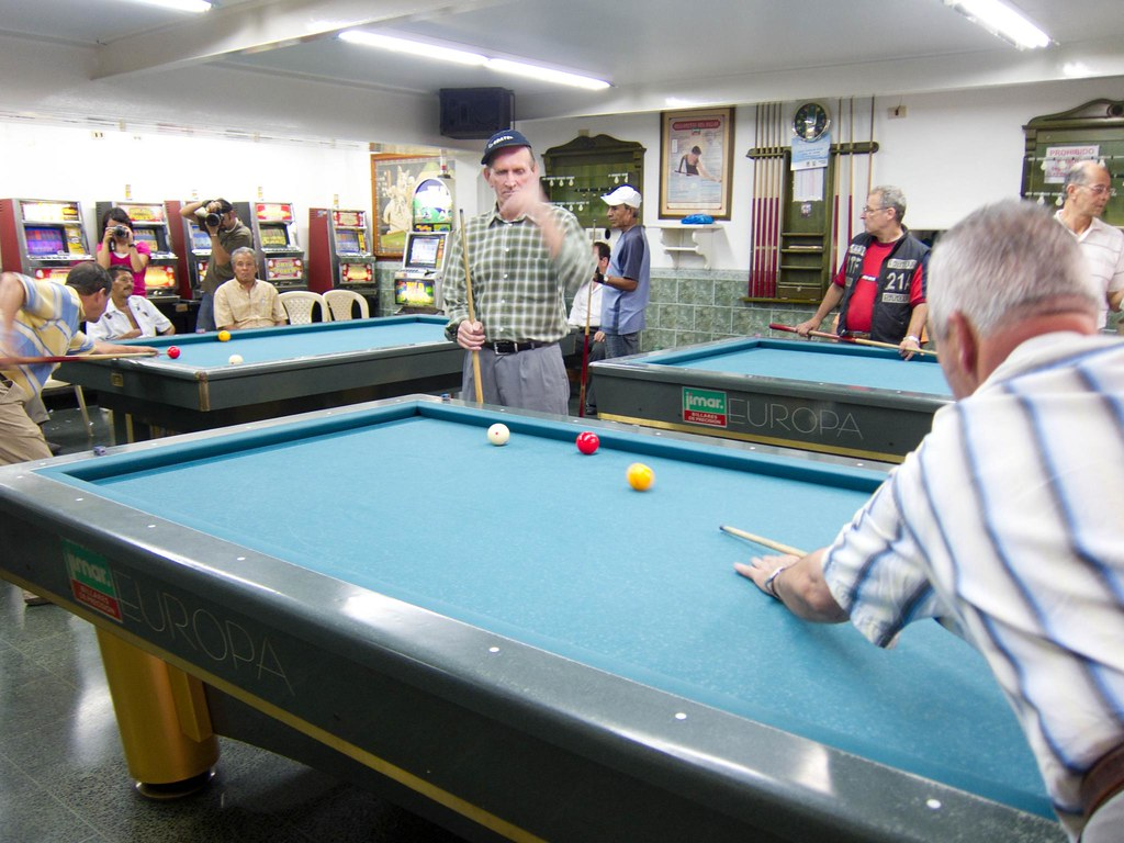 Billiard hall in Envigado