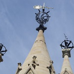 The American Fountain, Market Place, Stratford-upon-Avon - weather vane / wind vane