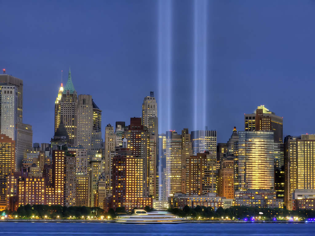 Tribute in Light 2010 - NYC