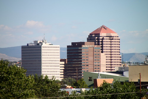Downtown ABQ Skyline