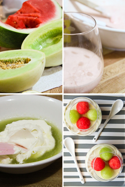 Watermelon & Honeydew Mousse | Flickr - Photo Sharing!