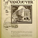Inseparable from the story of Vancouver; BCER advertisement, 1926 by jmv