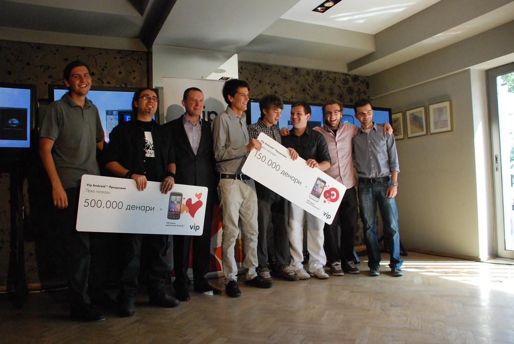 Победници на Vip Android предизвик