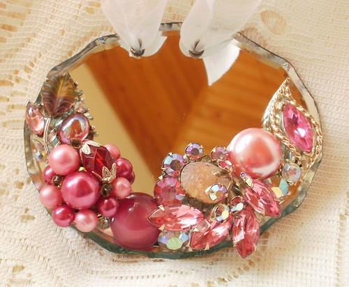 Pink Cottage Ornament