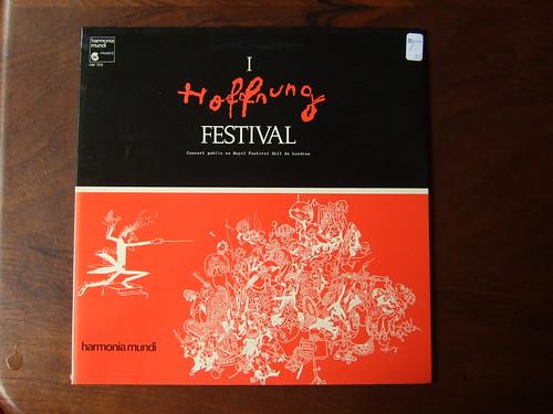 Hoffnung Festival I - Royal Festival Hall Live, Harmonia Mundi