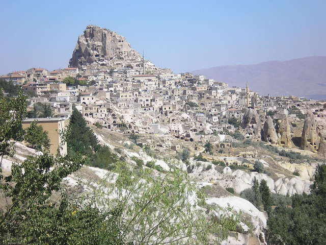 Uchisar castle - Cappadocia  Flickr - Photo Sharing!
