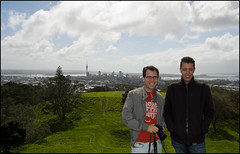 Patrick & Me at Mount Eden