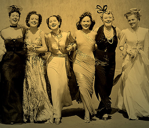 Principal cast of the 1939 film classic THE WOMEN