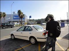 The NISSAN Sunny rental car ! ^^