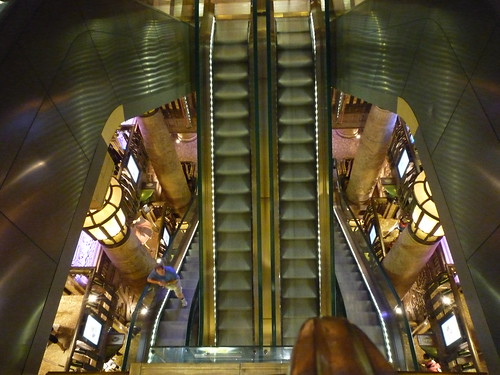 harrods escalators