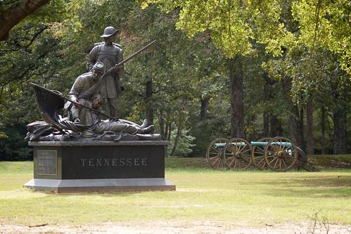 monument tennessee civilwar cannon soldiers artillery battlefield 1862 shiloh battlefields