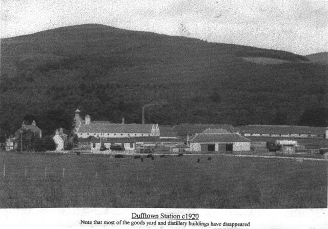 Dufftown Station Area c1920