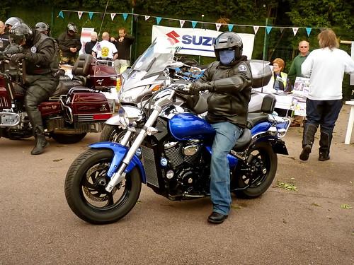 Custom Honda Motorcycle, Gainsborough