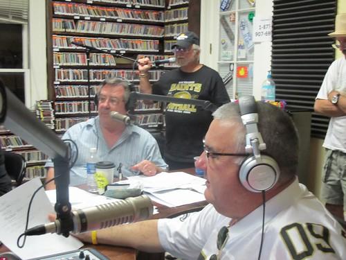 AJ, Bob Murret, & Billy Delle. Photo by Anna Temple.