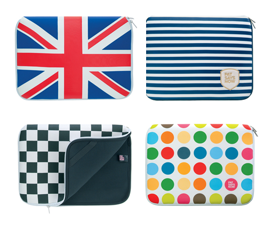 Laptop sleeves by Pat Says Now