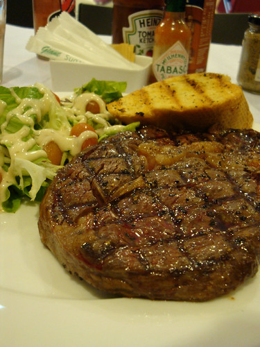 Angus Prime rib-eye steak