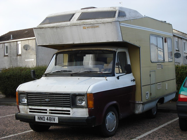 1980 Ford Transit 2 0 Motorhome Flickr Photo Sharing