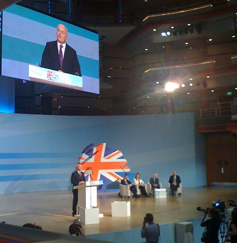 Iain Duncan Smith at Conservative Party Conference