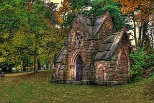 Troy N.Y. - Oakwood Cemetery - George Tibbits Grave 02