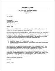 Cover Letter by Resume Service Plus