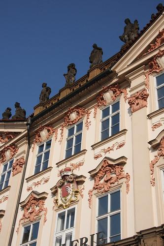 Kinsky Palace frontage