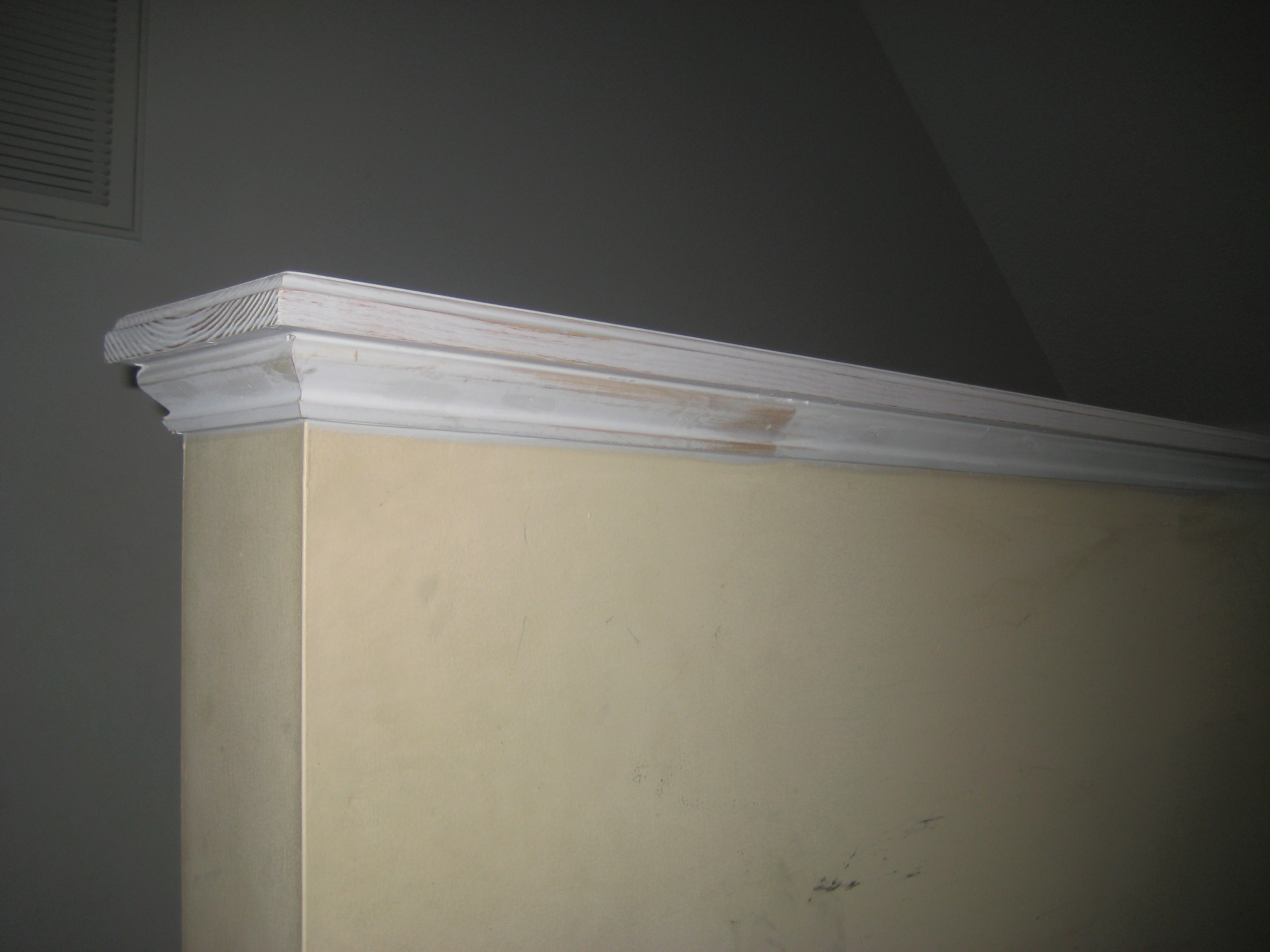 Half Wall Cap Molding Www Thefinishingcompany Net