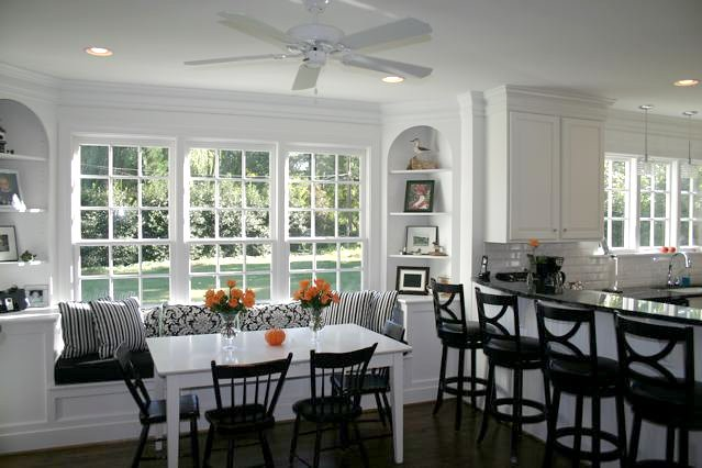Black And White Kitchen 5