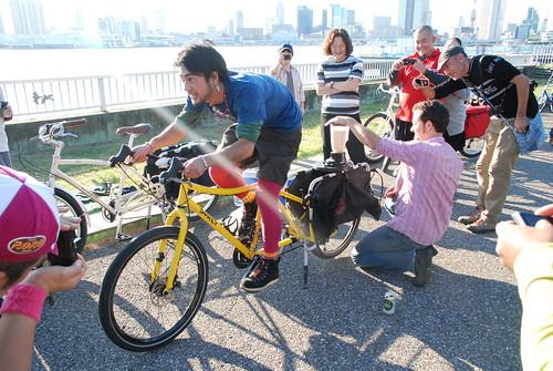 Fender Blender bike blender in Tokyo