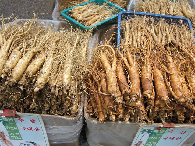 White and Red Ginseng