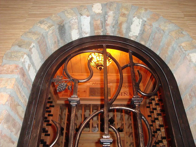 Forge Iron Designs Art In Iron Wine Cellar Doors
