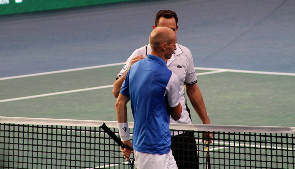 Nikolay Davydenko and Michael Llodra