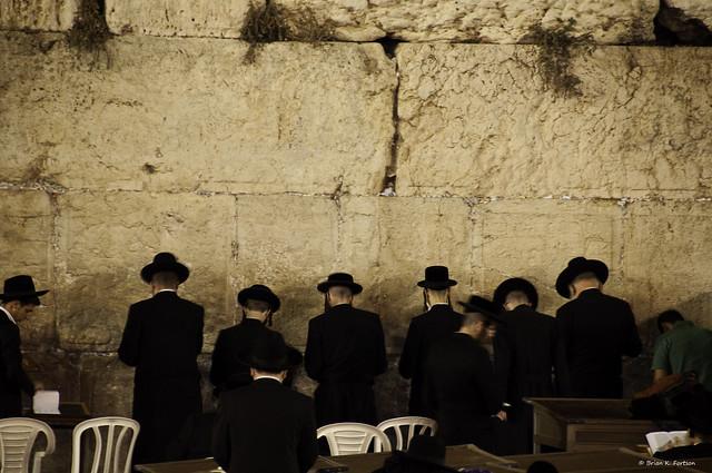 Jews Praying At The Western Wall Wailing Wall Flickr