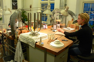 Georg Jensen silver workshop, Copenhagen