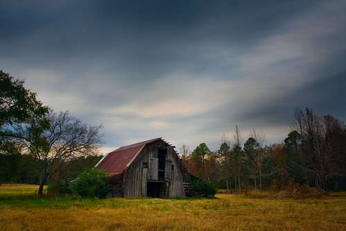 county old autumn cloud hot building fall abandoned rose barn rural canon lens photography eos us spring movement highway zoom clayton country wells structure glen pasture arkansas usm ef 1740mm 67 2010 disrepair bigmomma f4l 40d img8341 thechallengefactory