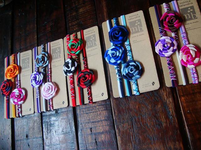 cintillos de flores de cinta (¡más de 5.000 vistas!) | Flickr ...