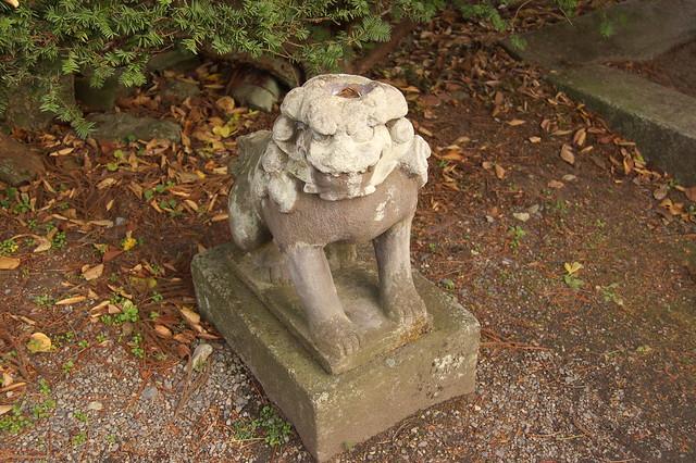 常堅寺のカッパ狛犬