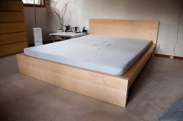 Ikea Malm Full Bed With Storage