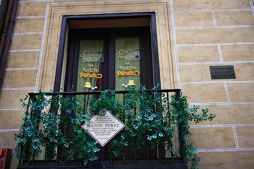 Casa museo del Ratón Pérez. Calle Tetuán. Madrid