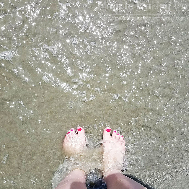 toes at myrtle beach