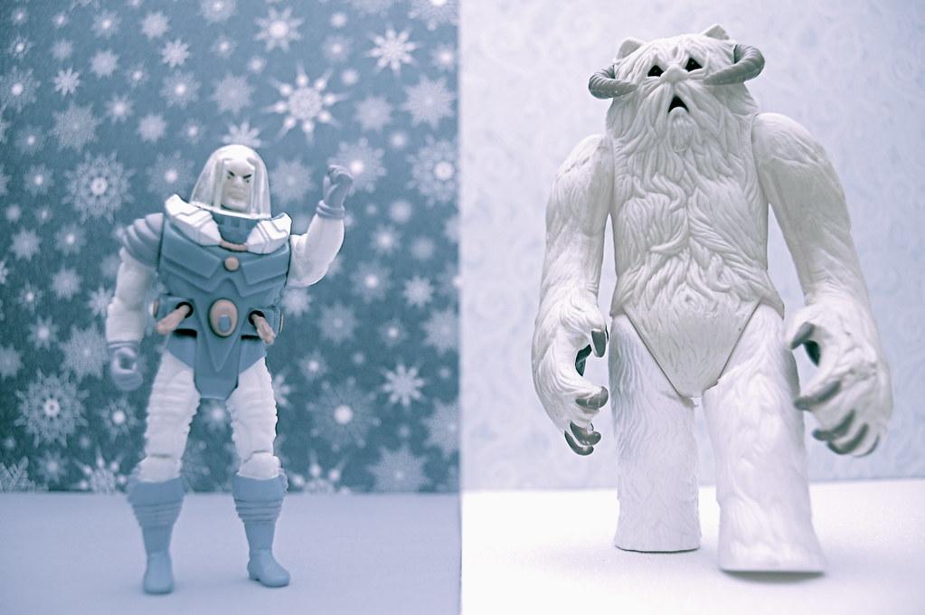 Mr. Freeze vs. Wampa (208/365)