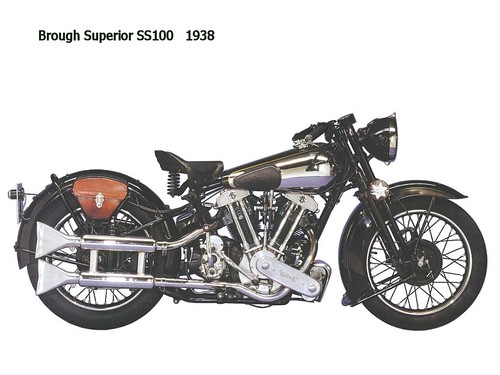 Brough Superior SS100 - 1938 CAUTION► All kinds of publication and commercial usage are prohibited & illegal ! ◄