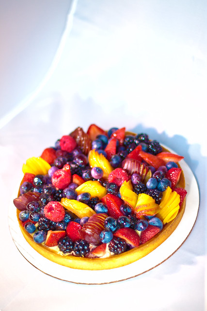 Fruit Tart from Mado Patisserie in Chatham NY