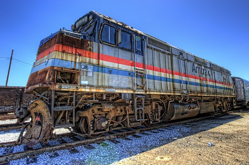 railroad train nc nikon gm engine northcarolina amtrak locomotive hdr highdynamicrange patina topaz f40 emd photomatix electromotivedivision d700 nctransportationmuseum northcarolinatransportationmuseum topazadjust