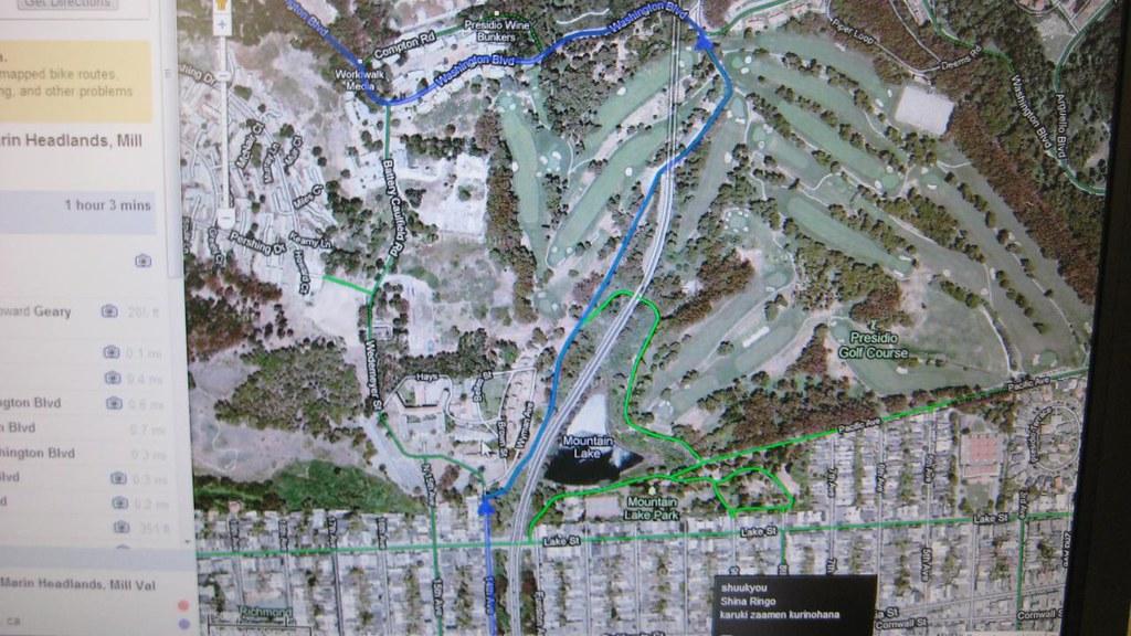 GOOGLE MAPS BIKE ROUTES on google car route, newspaper bike route, ups bike route, google headquarters bikes, google maps, google run route, google walking route,