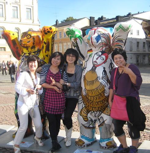 030  United Buddy Bears in Helsinki 2010