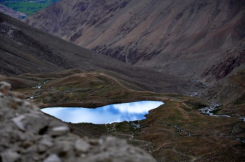 sky mountains reflection landscape nikon leh ladakh d90