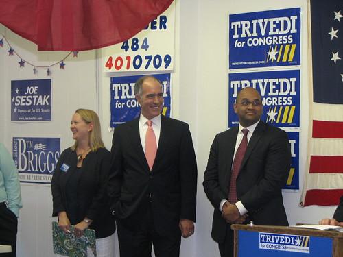 Manan Trivedi & Senator Casey