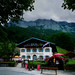 Picturesque Alpenhof pension in the Bavaria