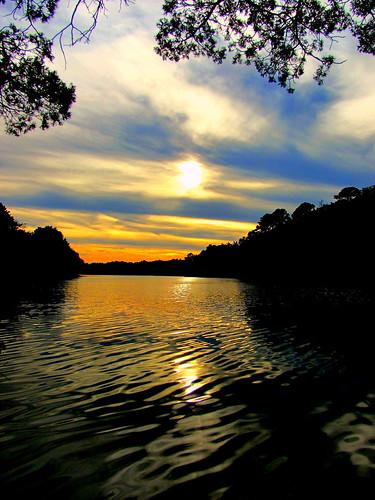 sunset lake mirror brownsmills